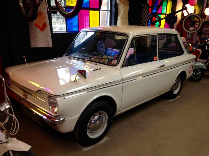 Hillman Imp at the Motoring Museum, Bourton-on-the-Water, Cotswolds.