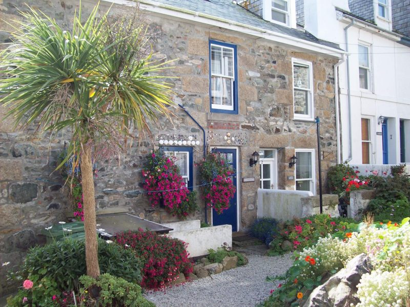 Cornish home in St Ives Cornwall.