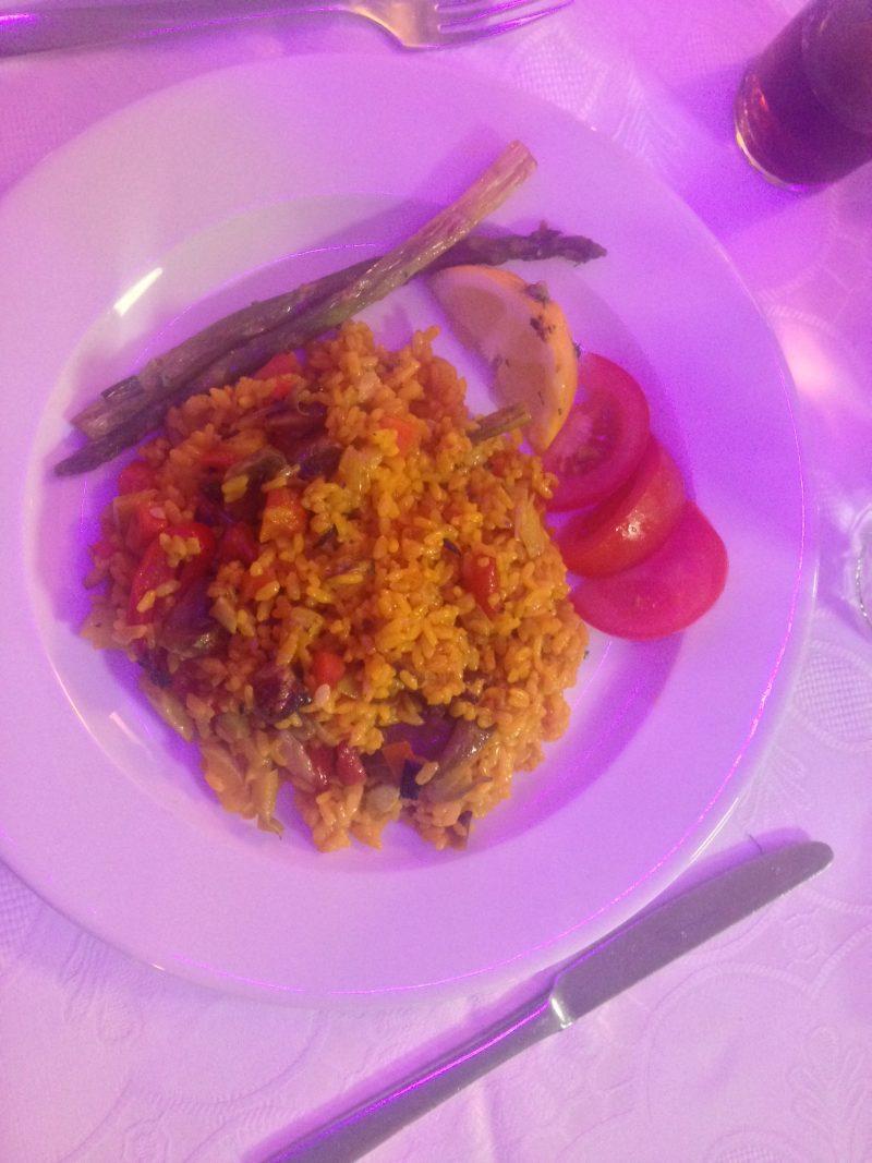 vegetarian paella dona lola costa teguise lanzarote