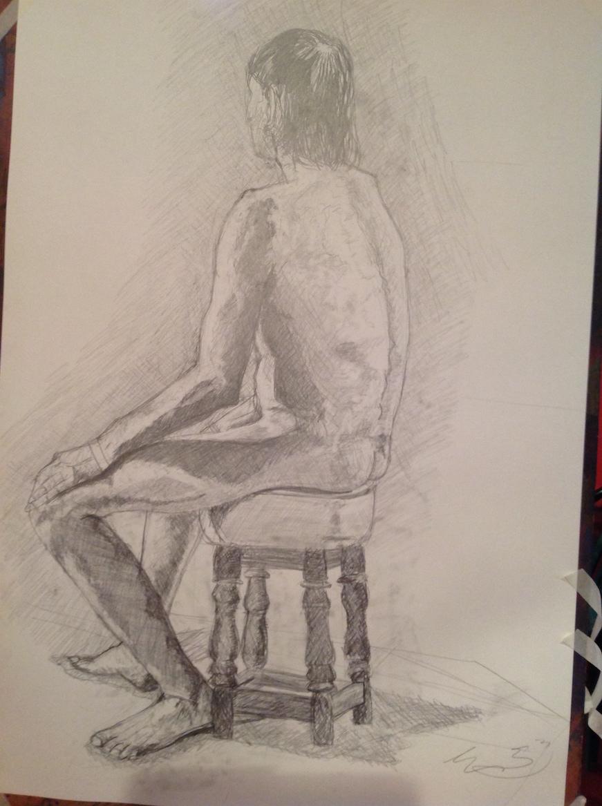 Life Drawing: Facing my Demons