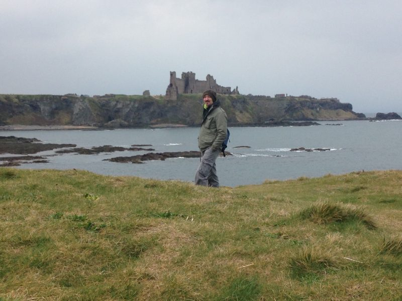 Tantallon castle, East Lothian. Another stop on my turning 50 big birthday weekend.