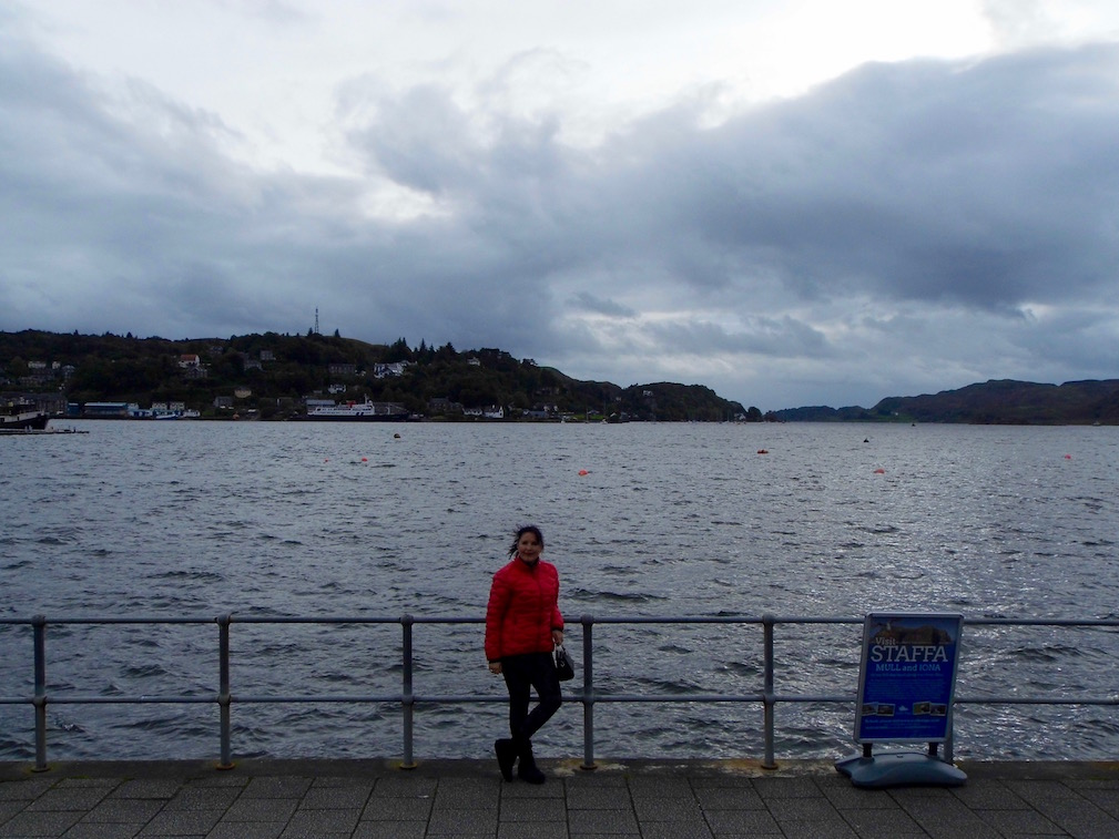 Oban Bay, Argyle, Scotland. Read about Emerald Dunne's road tip to Oban, Fort William and Glencoe.