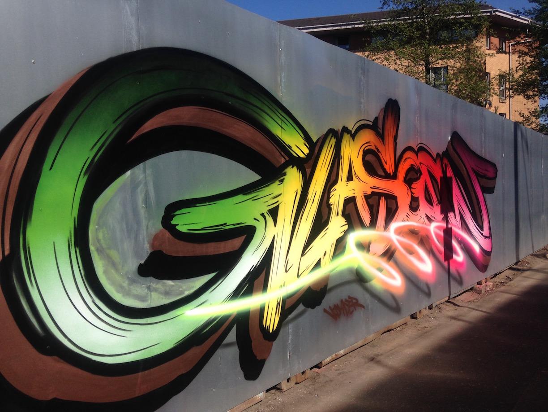 Yard Works: Street Art in Glasgow