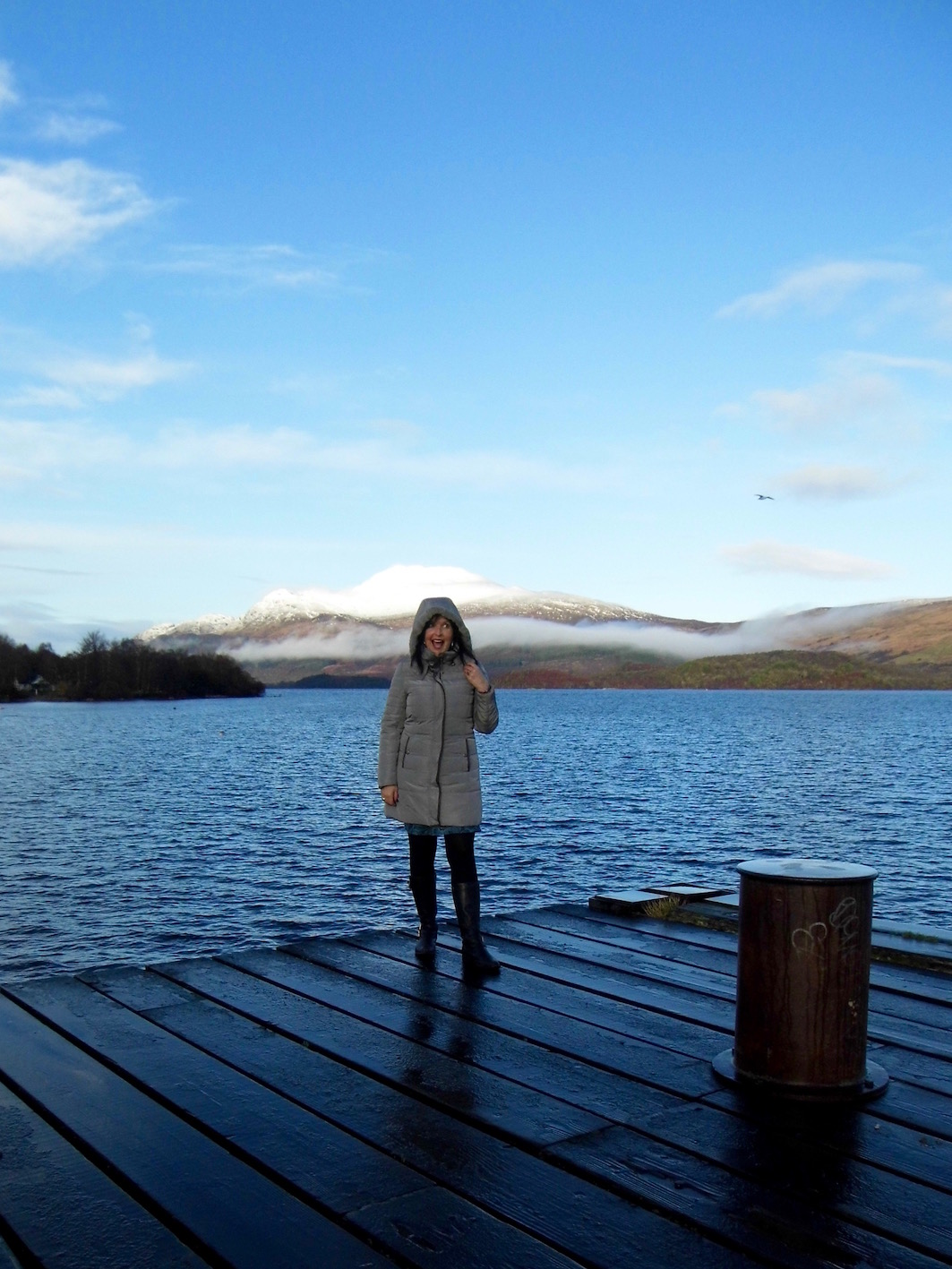 A quick sketchbook outing to Luss on Loch Lomond. Our first day out ion 2018.