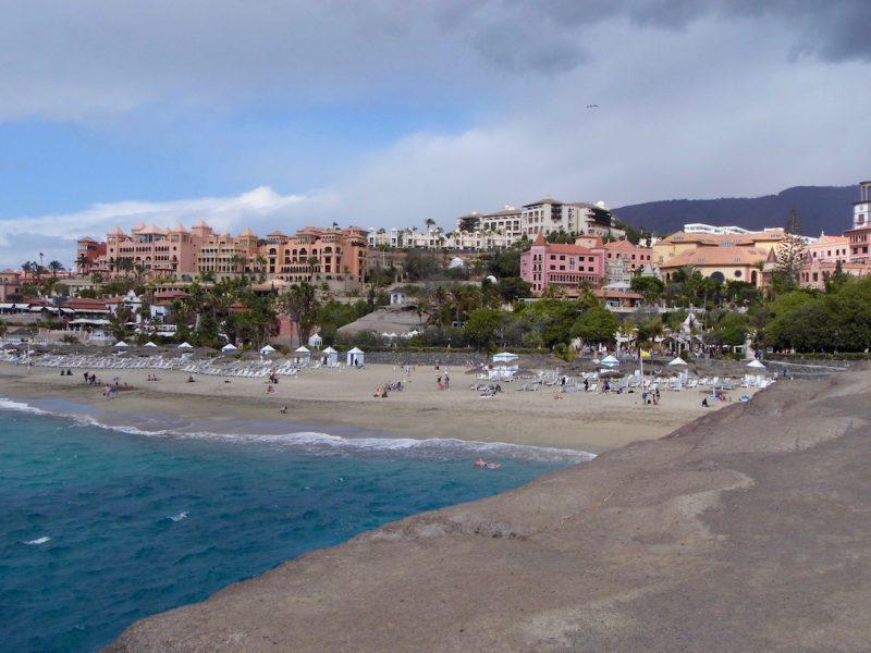 Playa del Duque, Costa Adeje, Tenerife.