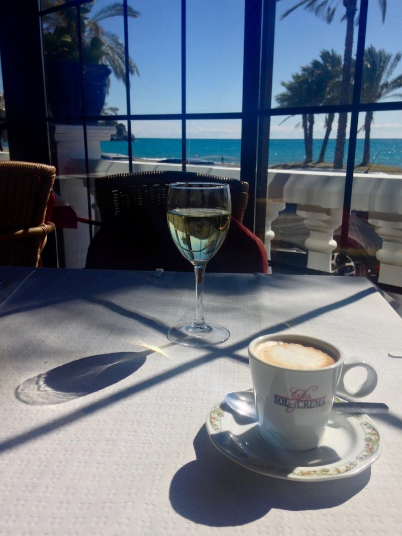 March 2018: Coffee, wine and sunshine in Andalusia - what more could you want?