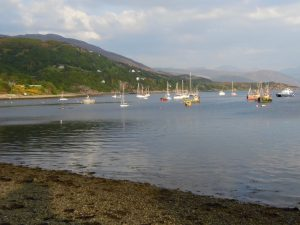 Boats on Loch Broom, Ullapool.