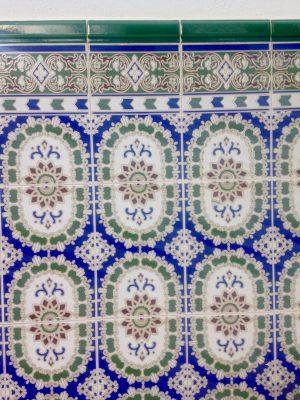 The streets of La Herradura, Spain: Colourful tiles.