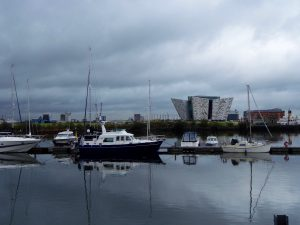 Belfast: The Titanic Museum on the Lagan.