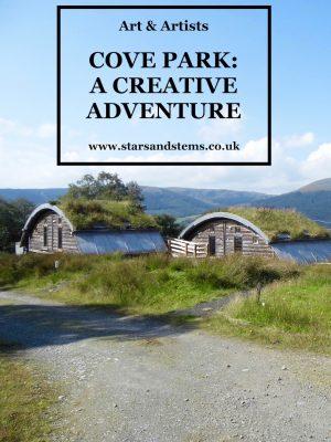 Cove Park: A Creative Adventure, Stars & Stems blog by Glasgow artist Emerald Dunne.