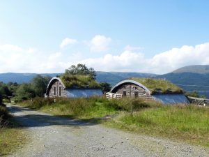 Cove Park near Helensburgh: Eco houses for artists.