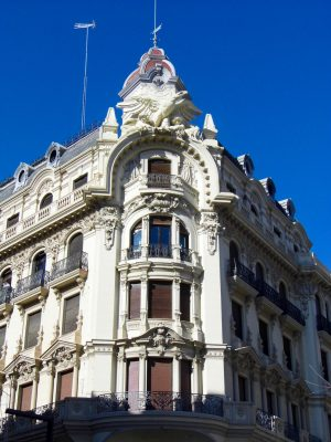 Building in Granada, Spain.