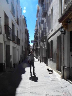 Granada backstreet, Spain.