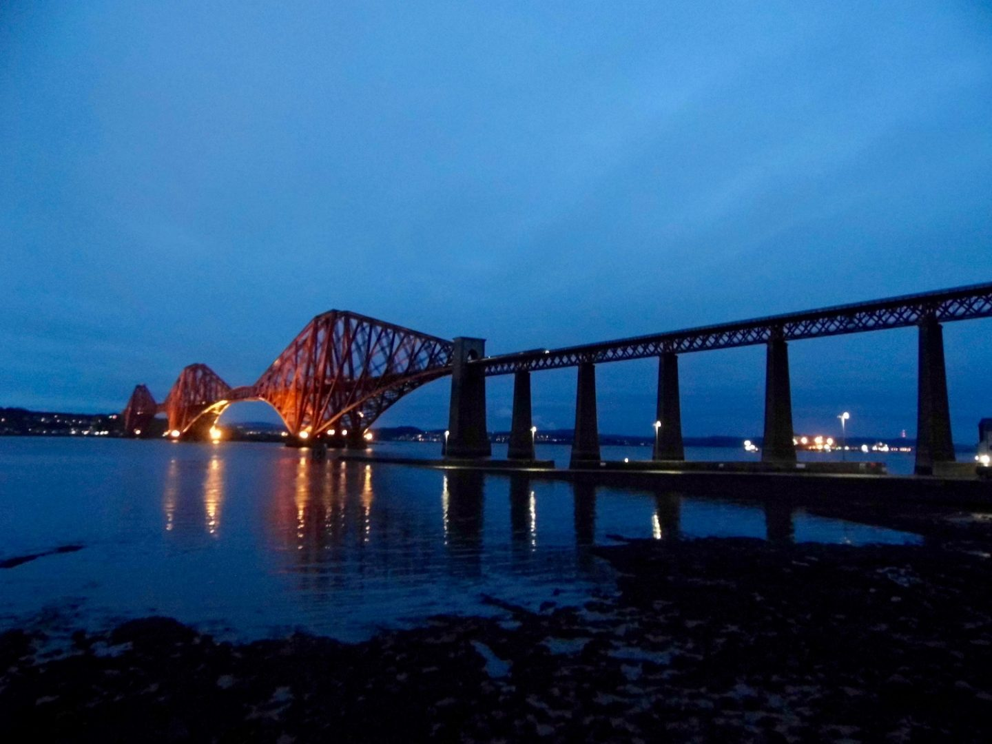 South Queensferry on a winter afternoon