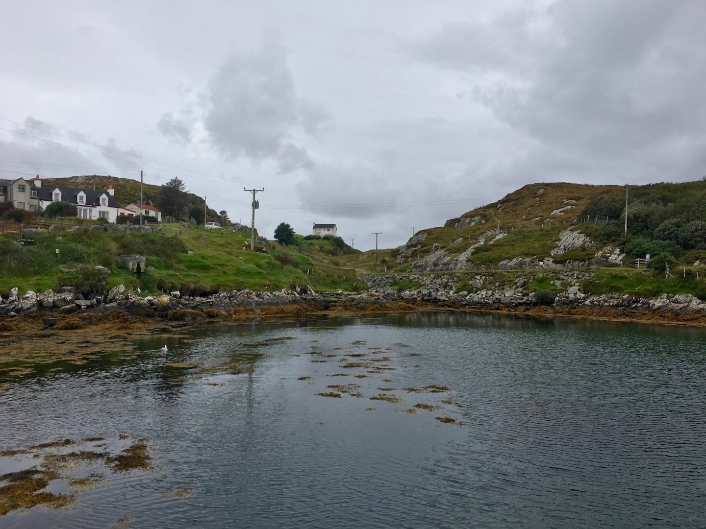 Houses on the Golden Road, Isle of Harris